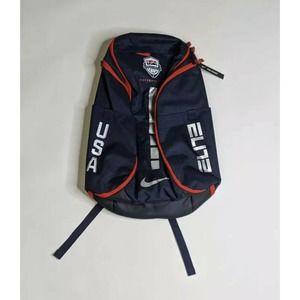 Nike Hoops Elite Pro USA Basketball Team Backpack Blue Red White CK1198-451 NEW
